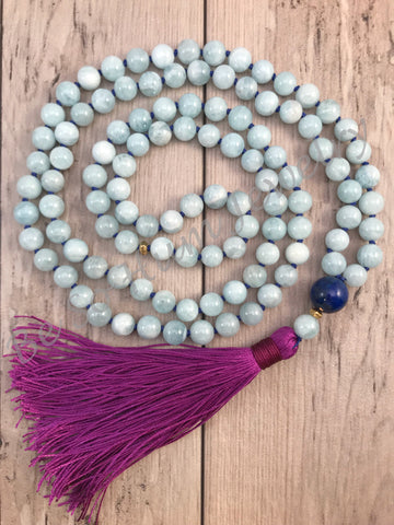 Seas of Calm Mala Necklace