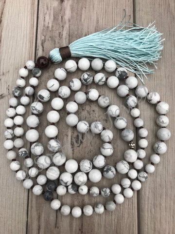 Relaxed Mind Mala Necklace