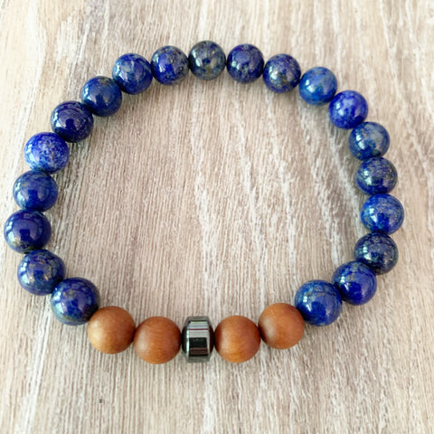 Peace and Zen Mala Bracelet