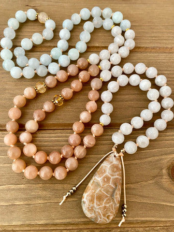 Moon Sun and Sea Mala