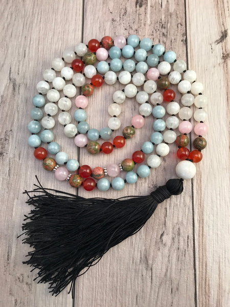 Love and Harmony Mala Necklace