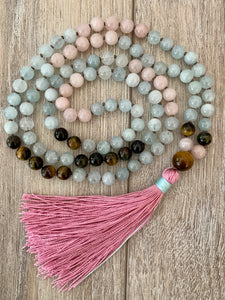 Love and Friendship Mala Necklace