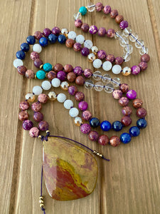 Soul Shine Bright Mala Necklace