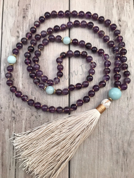 Renewed Spirit Mala Necklace