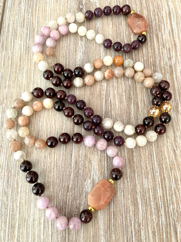 Custom Designed Mala Necklace