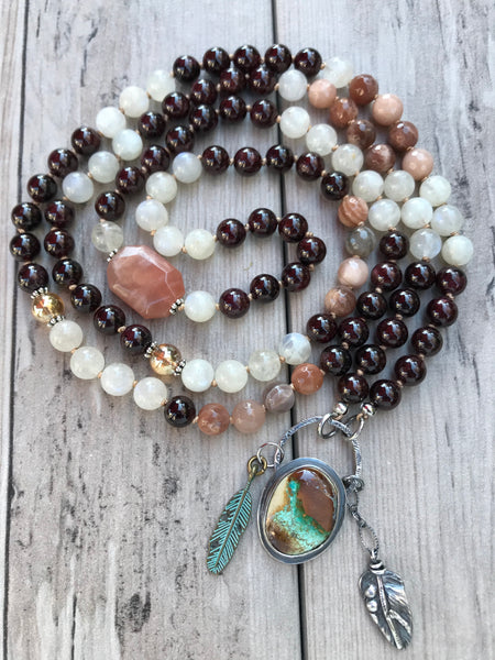 Desert Skies Mala Necklace