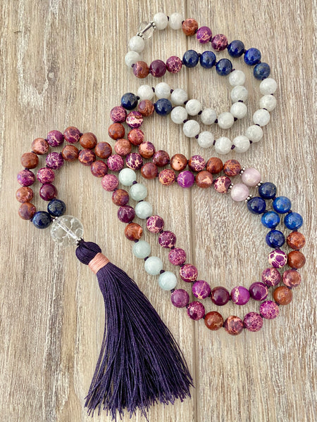 September Full Moon Mala