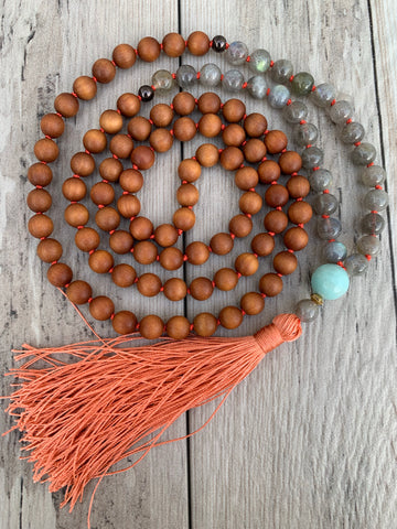 Third Eye Mala Necklace