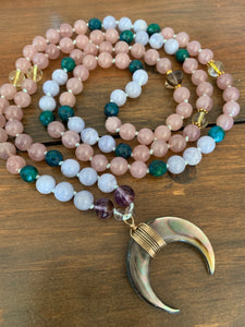 April Full Pink Moon Mala