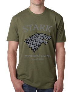 Game of Thrones t shirts for men summer man casual short sleeve Stark Winter Is Coming