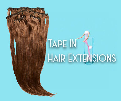 best tape in hair extensions online