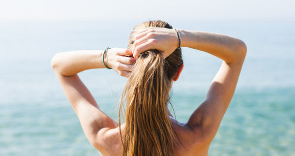 take care of hair extensions during summer months