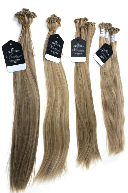 "Valente Hand Tied Weft 18"" Extensions"