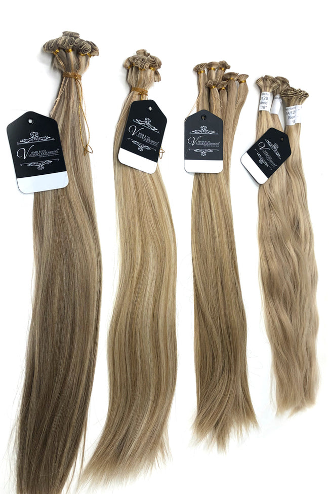 "Valente Hand Tied Weft 14"" Extensions"