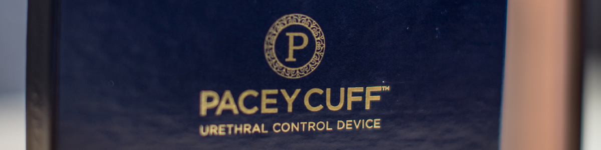 Pacey Cuff™ | Urethral Control Device for Continence with Confidence - Post Prostatectomy