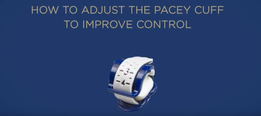 How to adjust the Pacey Cuff™