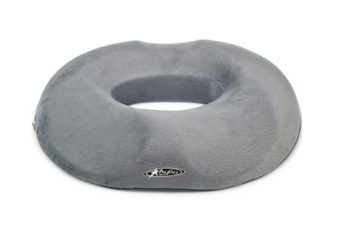 Aylio Donut Seat Cushion Comfort Pillow for Hemorrhoids, Prostate, Pregnancy, Post Natal Pain Relief, Surgery