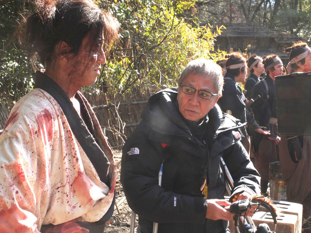 Blade of the Immortal Takashi Miike and Takura Kimura