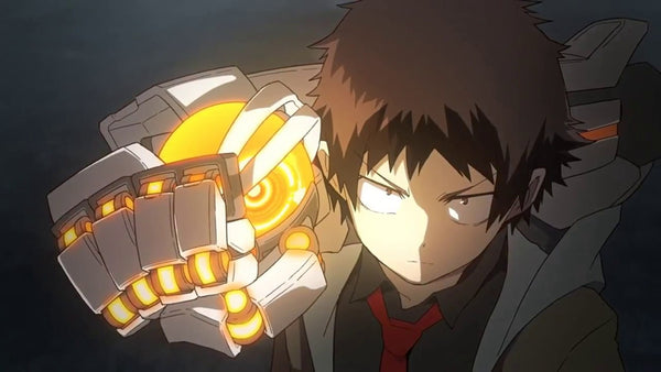 Mecha Ude is an example of a 2D and CGI hybrid anime