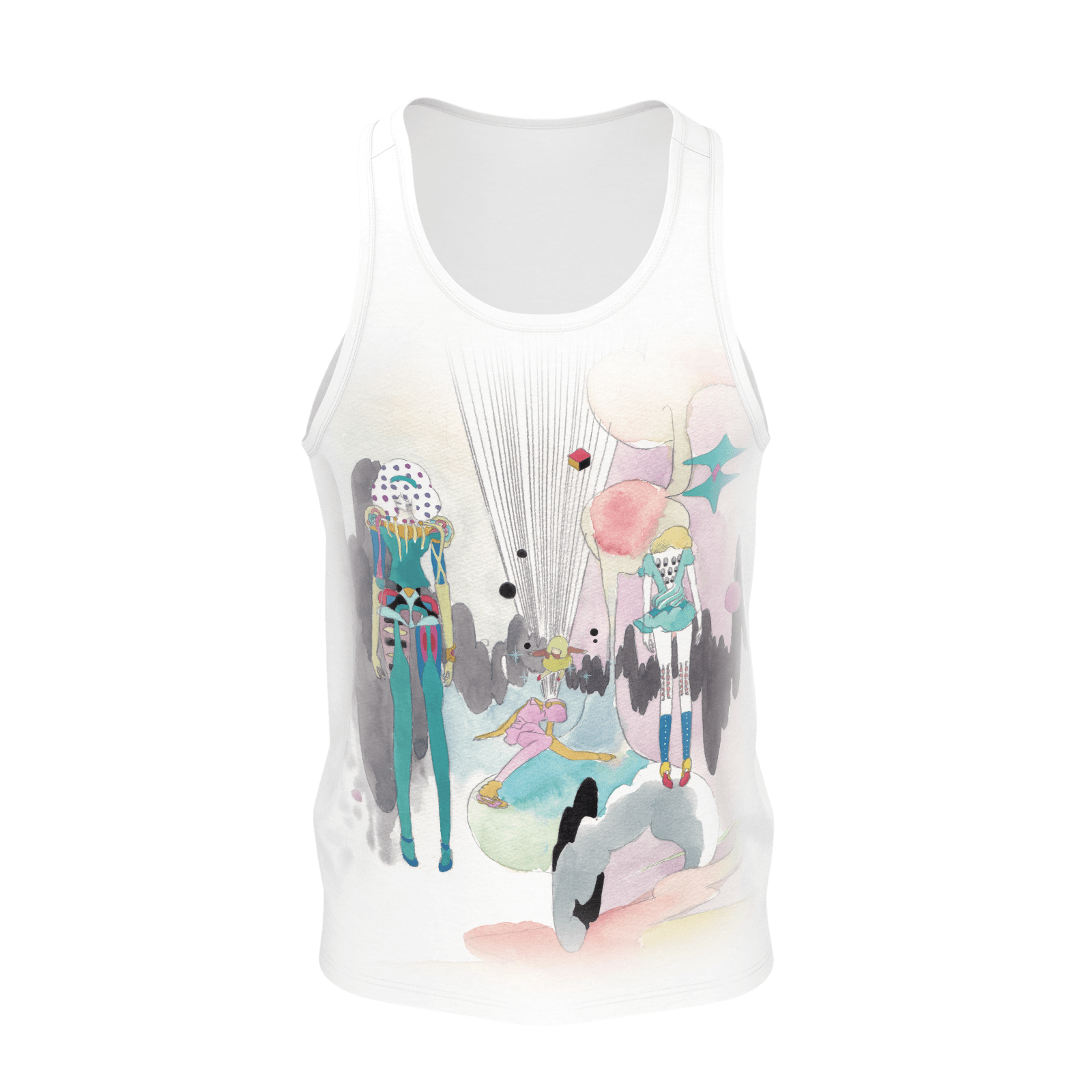 Paranoia Girls - tank top - EDR - poly 2019
