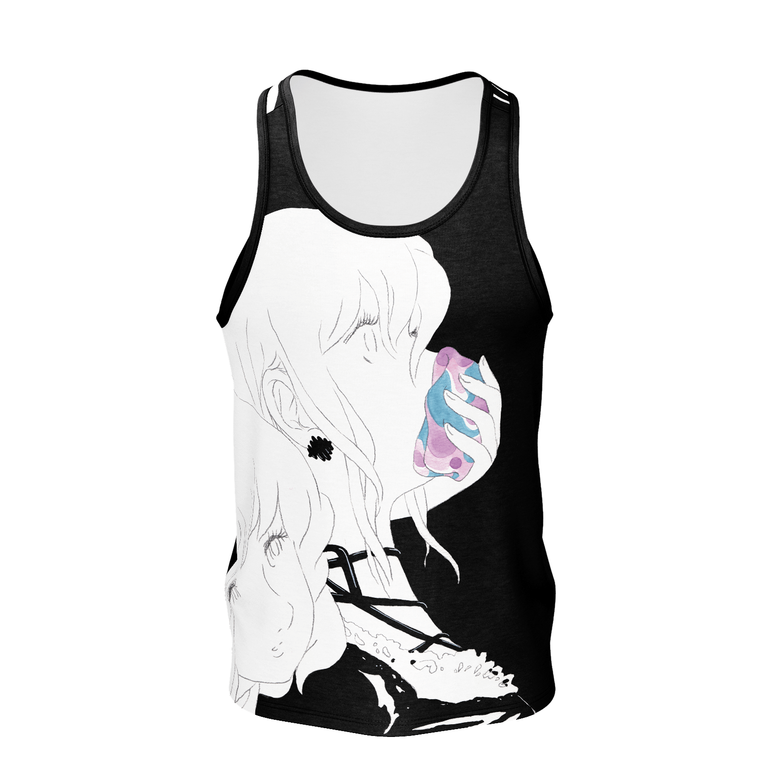 Paranoia Girls - tank top 2 sided - Betrayal - Poly 2019