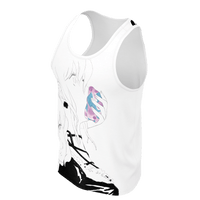Paranoia Girls - 2 sided tank top - Betrayal - White - Poly 2019