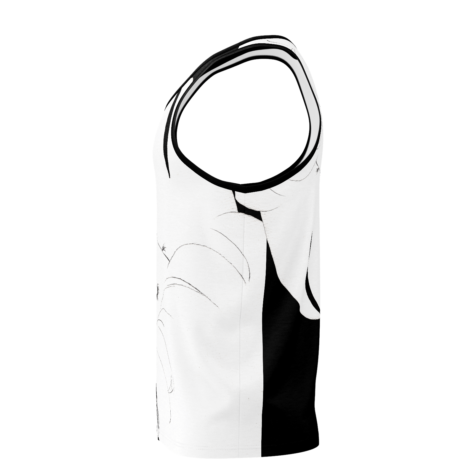 Paranoia Girls - 2 sided tank top - Larissa Loses - Black - Poly 2019