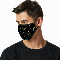 Breathable sunscreen mask KZ12, Dust Masks with Filter - Start - Black