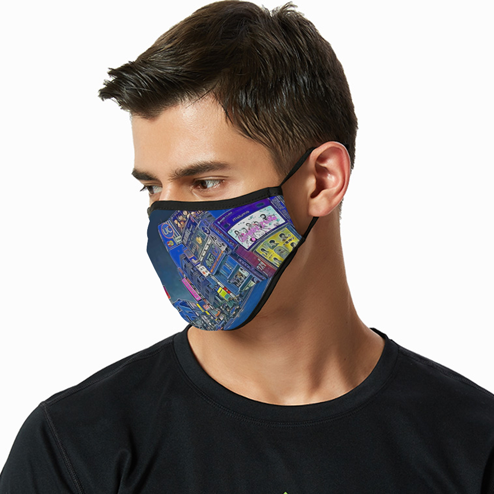 Breathable sunscreen mask KZ12, Dust Masks with Filter - Tokyo - Shibuya 109