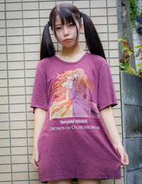 Crown of Ouroboros Unisex T-shirt by Terumi Nishii