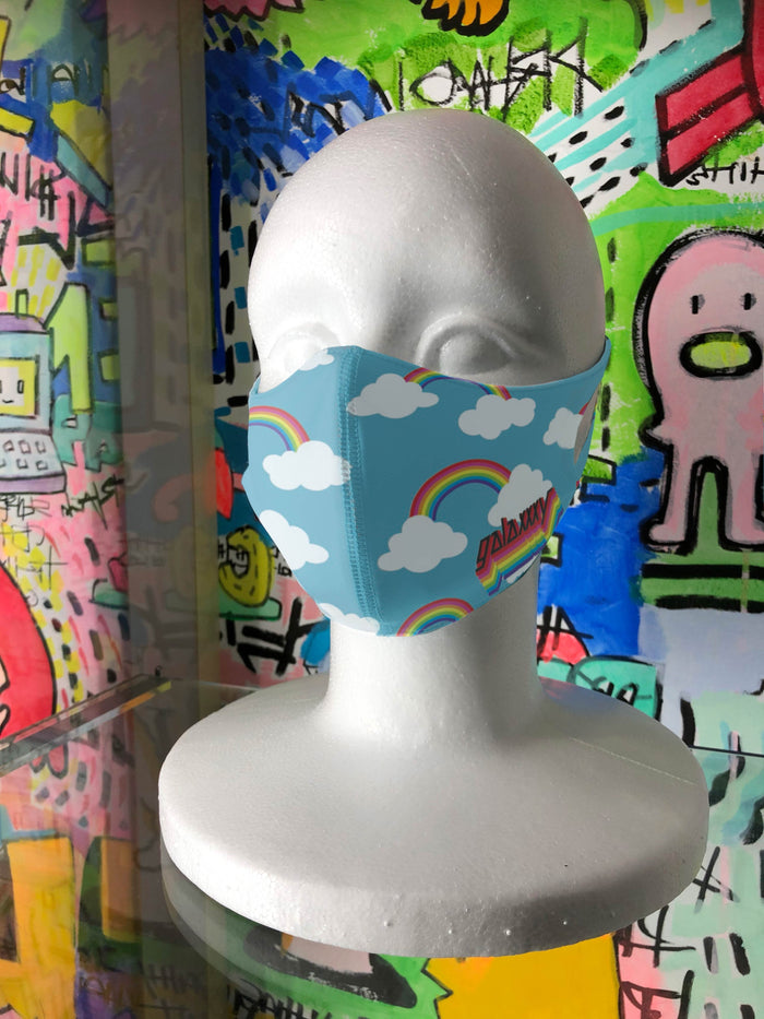 RAINBOW Fashion Mask by galaxxxy