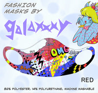 RED Fashion Mask by galaxxxy