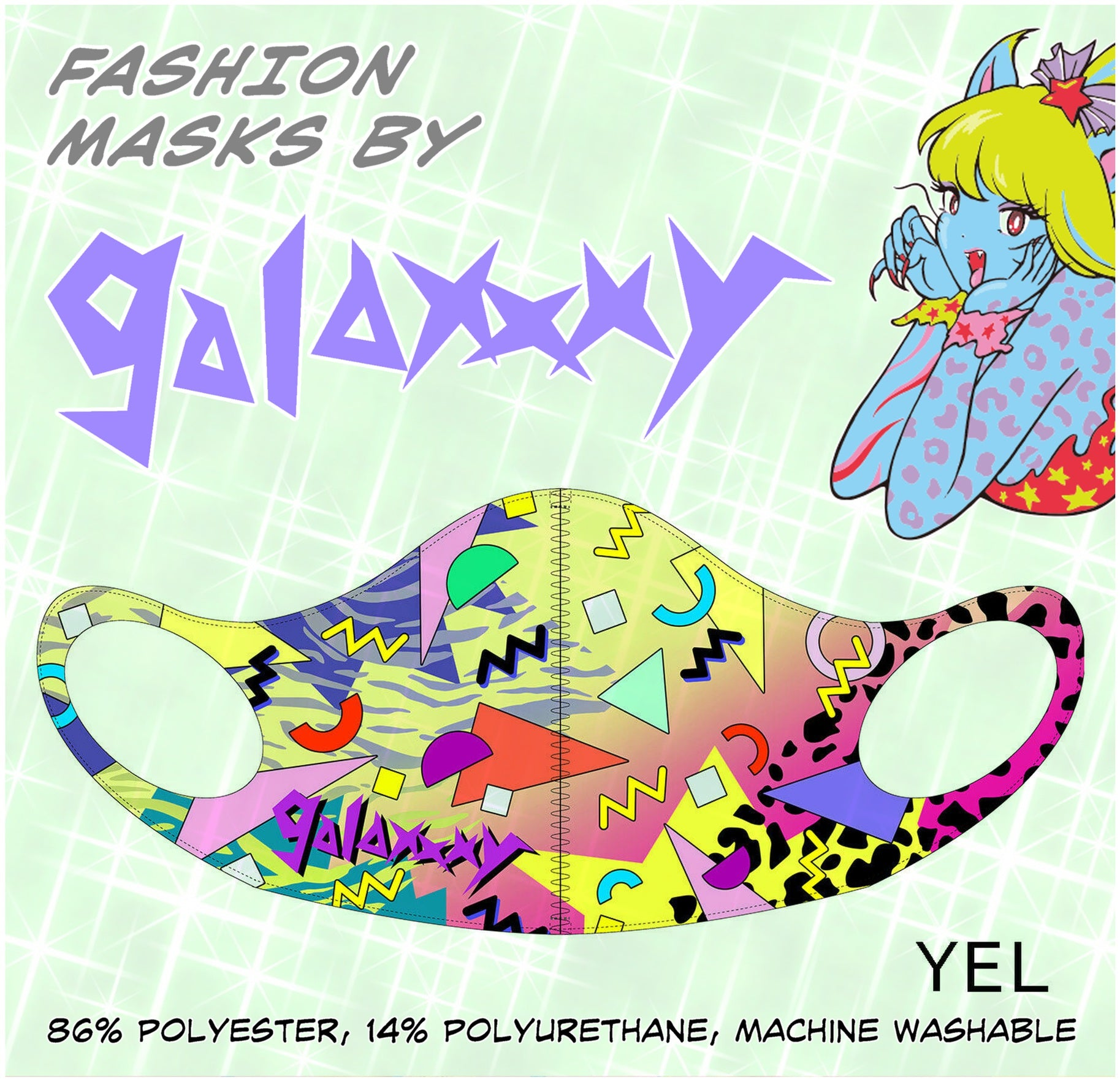 YEL Fashion Mask by galaxxxy