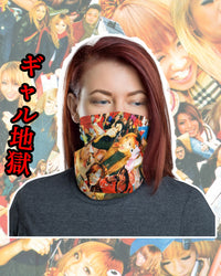 Gyaru Inferno Neck Gaiter