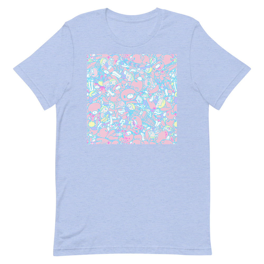 "GLOOMY BEAR Official ""Sherbet Khaos"" T-shirt by Mori Chack"