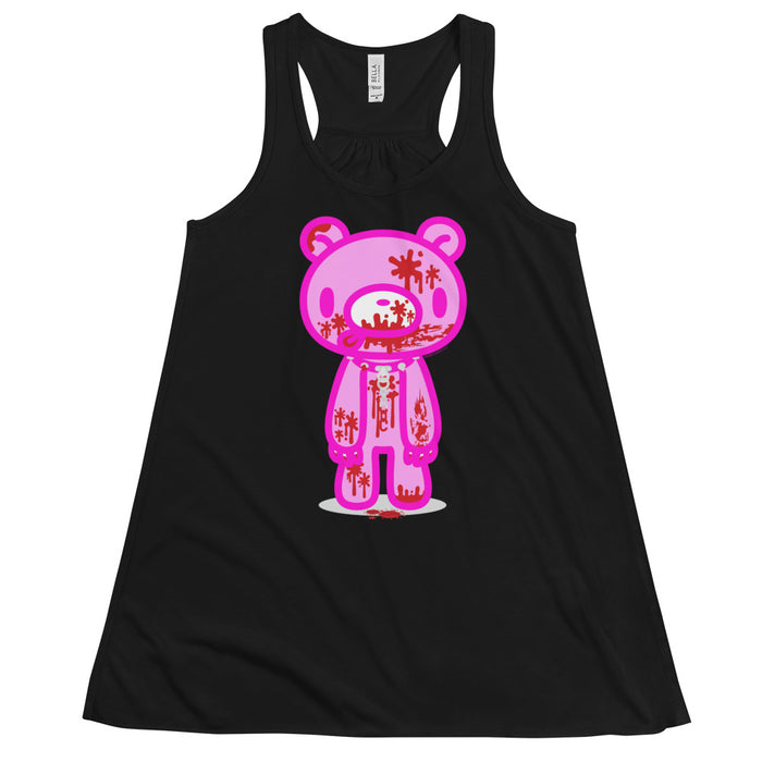 "GLOOMY BEAR Official ""Full Bloody"" Flowy Tank Top by Mori Chack"
