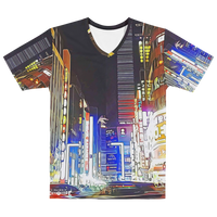 "TokyoScope CITY ""Shinjuku"" Full Print Unisex T-Shirt"