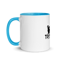 """Karate Power!"" Ceramic Mug with Color Inside by TokyoScope"