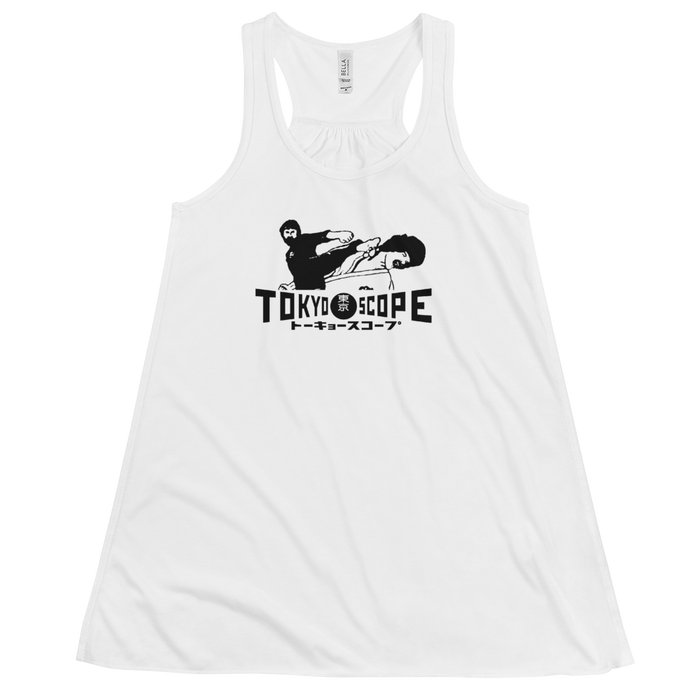 """Karate Power!"" Flowy Tank Top by TokyoScope"