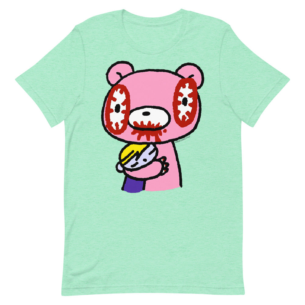 "GLOOMY BEAR Official ""Bear Hug"" T-shirt by Mori Chack"