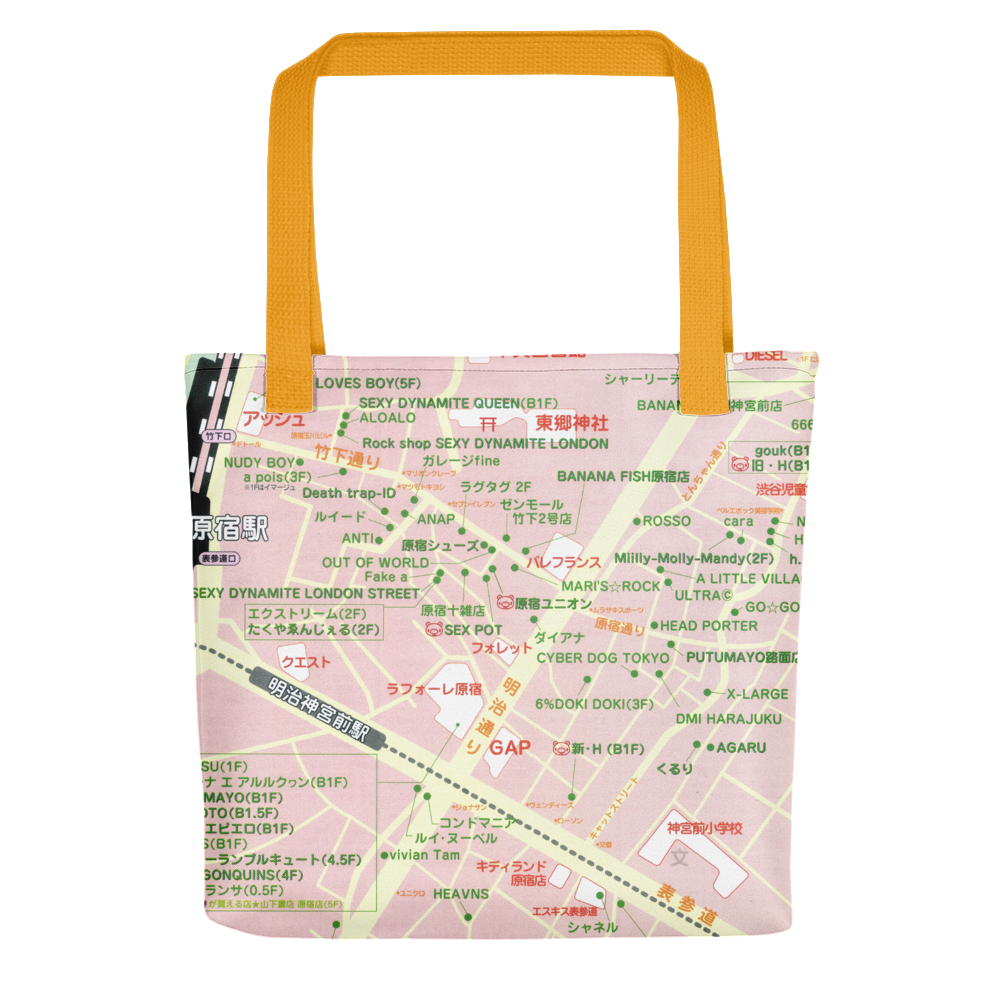 Harajuku Map Tote Bag