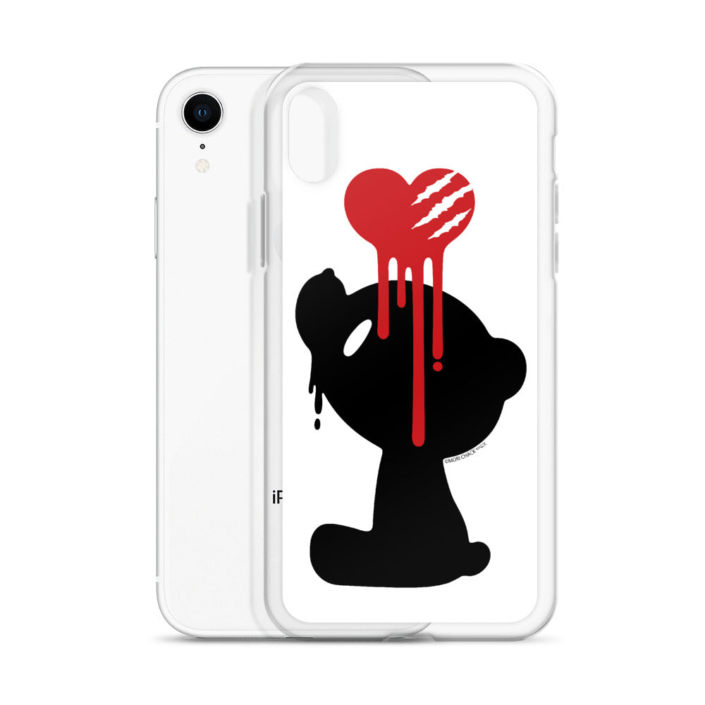 "GLOOMY BEAR Official ""Bleeding Heart"" iPhone Cases by Mori Chack"