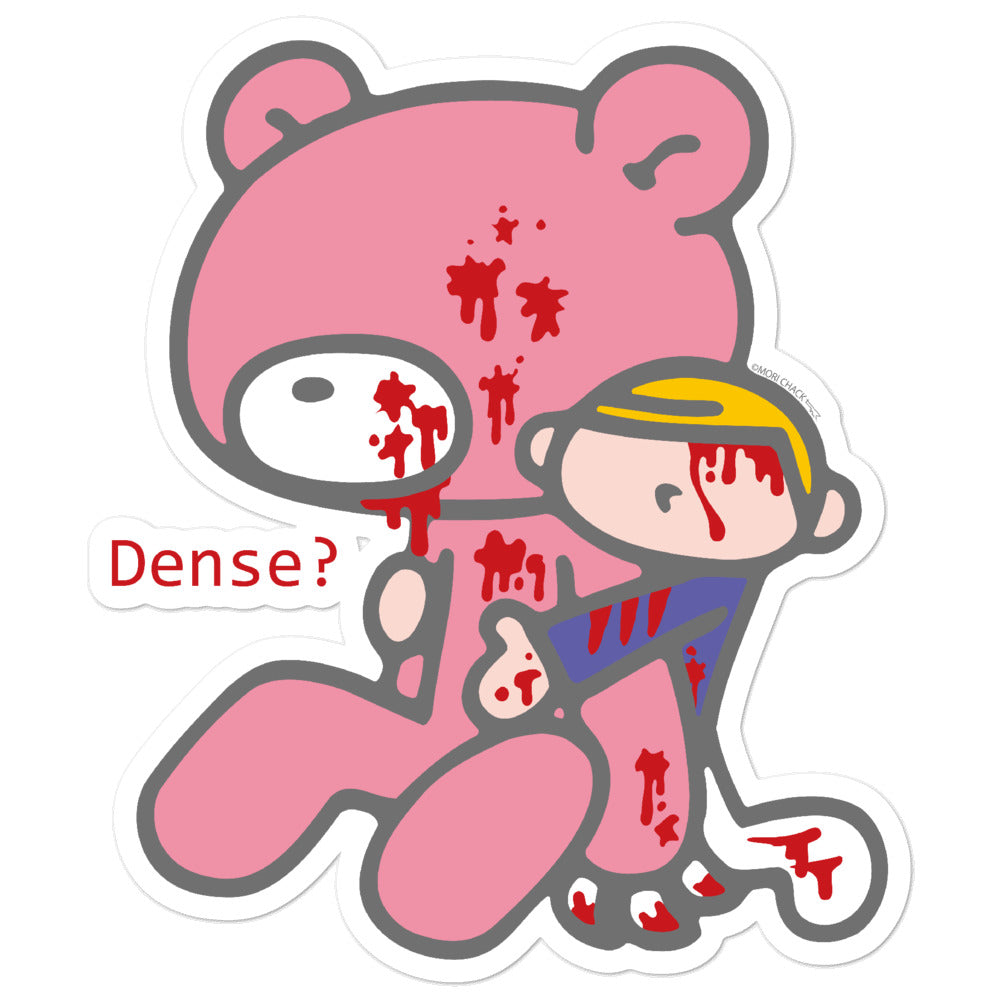 "GLOOMY BEAR Official ""Eyeless"" Sticker by Mori Chack"