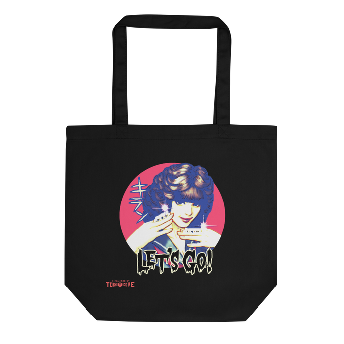 "YANKII STYLE ""Sukeban Kiran"" Eco Tote Bag by Haruki Ara"
