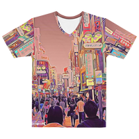 "TokyoScope CITY ""Shibuya Center Street"" Full Print Unisex T-Shirt"