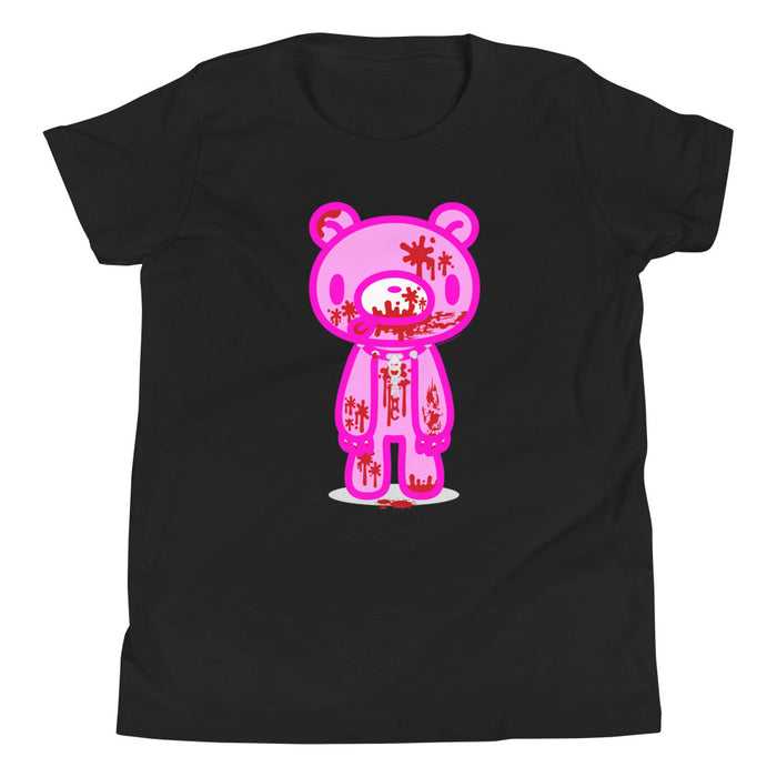 "GLOOMY BEAR Official ""Full Bloody"" Youth Short Sleeve T-Shirt by Mori Chack"