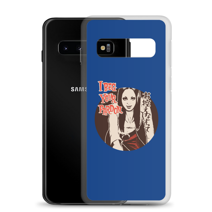 "YANKII STYLE ""I Beg Your Pardon"" Samsung Case by Haruki Ara"