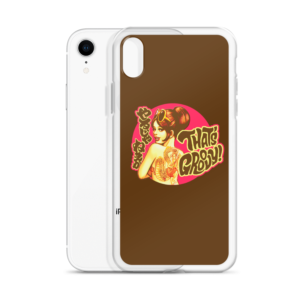"YANKII STYLE ""That's Groovy!"" iPhone Case by Haruki Ara"
