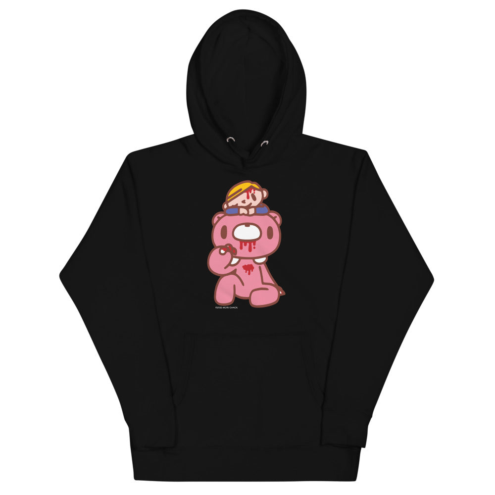 "GLOOMY BEAR Official ""GLOOMY + PITY"" Unisex Hoodie by Mori Chack"
