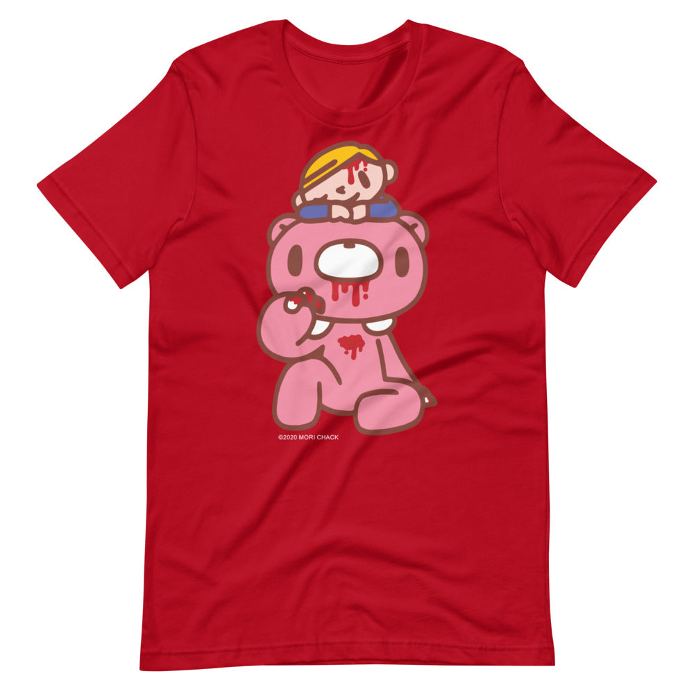 "GLOOMY BEAR Official ""GLOOMY + PITY"" Unisex T-shirt by Mori Chack"
